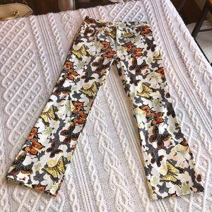 🦋 NEW HTF Butterfly pants w glitter detail